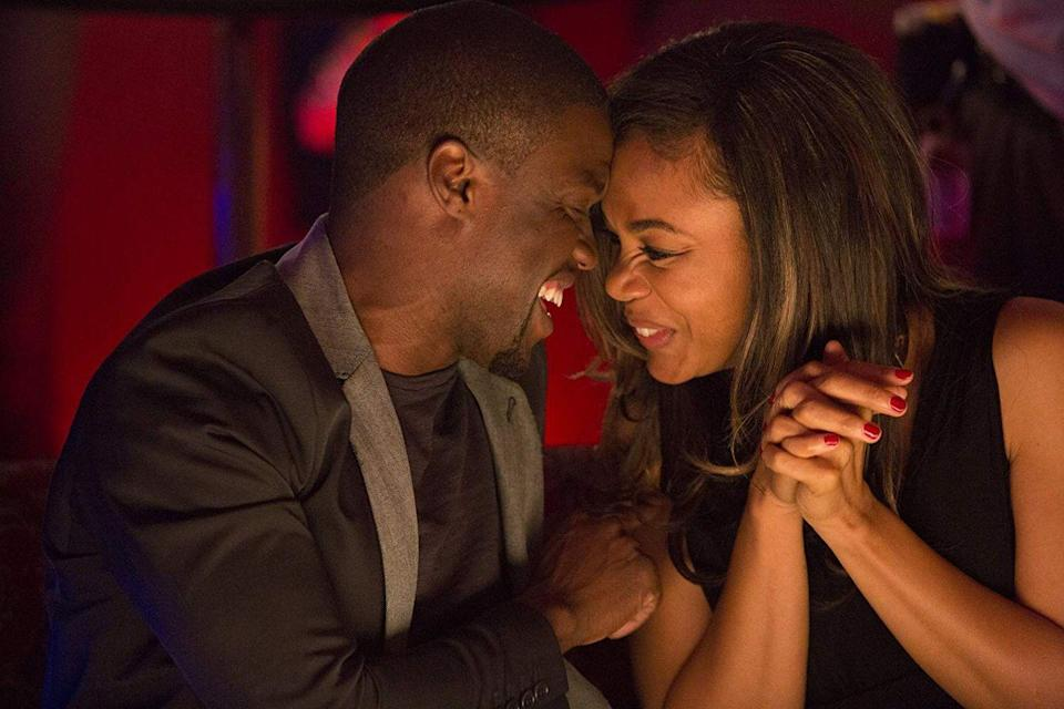 "<p><strong>Cast: </strong>Michael Ealy, Kevin Hart, Regina Hall, Joy Bryant<br></p><p>On a night out, Danny meets a successful businesswoman, Debbie, and they have an instant connection. But despite their wariness of love, the two try to make it work. At the same time, their respective best friends are warning them against commitment—while simultaneously falling for each other, too. </p><p><a class=""link rapid-noclick-resp"" href=""https://www.amazon.com/gp/video/detail/B00JS6AUYI/ref=atv_dl_rdr?tag=syn-yahoo-20&ascsubtag=%5Bartid%7C10072.g.28122982%5Bsrc%7Cyahoo-us"" rel=""nofollow noopener"" target=""_blank"" data-ylk=""slk:Watch Now"">Watch Now</a></p>"