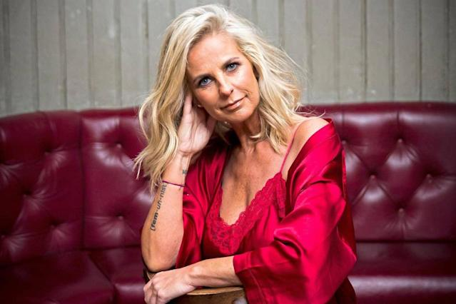 Ulrika Jonsson stars in the ad for over-50s dating app Lumen (Credit: Rob Greig/Lumen)
