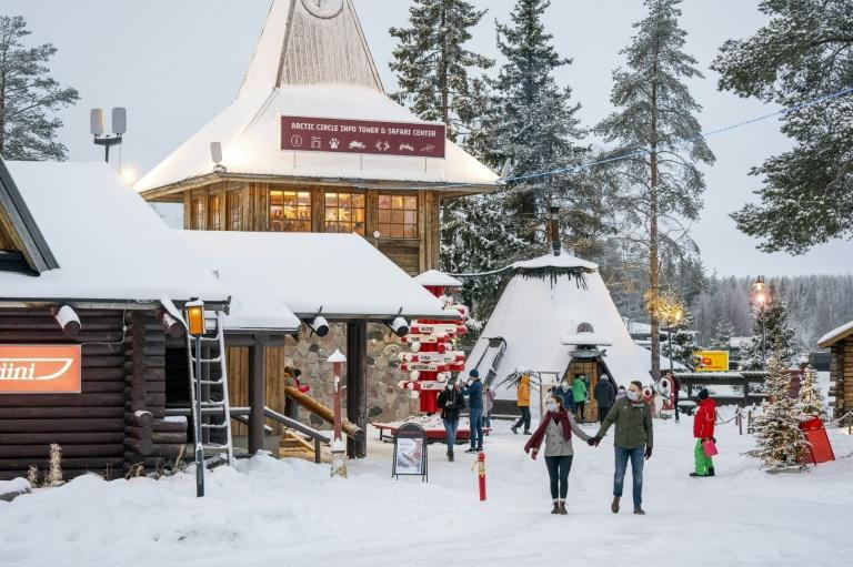 "Since the 1980s, tourism chiefs have marketed the Arctic Circle town of Rovaniemi as the ""real"" home of Santa Claus"