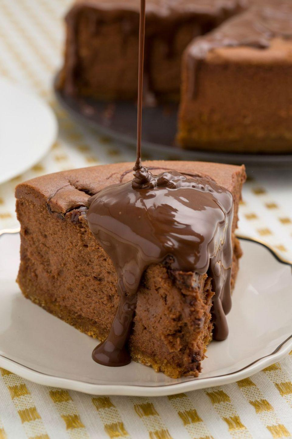 """<p>Nutella? Good. Nutella cheesecake? Even better.</p><p>Get the recipe from <a href=""""https://www.delish.com/cooking/recipe-ideas/recipes/a45125/nutella-cheesecake-recipe/"""" rel=""""nofollow noopener"""" target=""""_blank"""" data-ylk=""""slk:Delish"""" class=""""link rapid-noclick-resp"""">Delish</a>.</p>"""