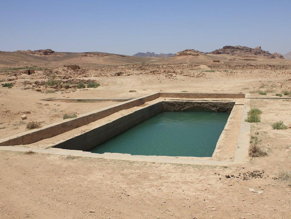 """<span class=""""caption"""">A refurbished Nabataean cistern at the site of Humayma, Jordan.</span> <span class=""""attribution""""><span class=""""source"""">(Craig Harvey)</span>, <span class=""""license"""">Author provided</span></span>"""