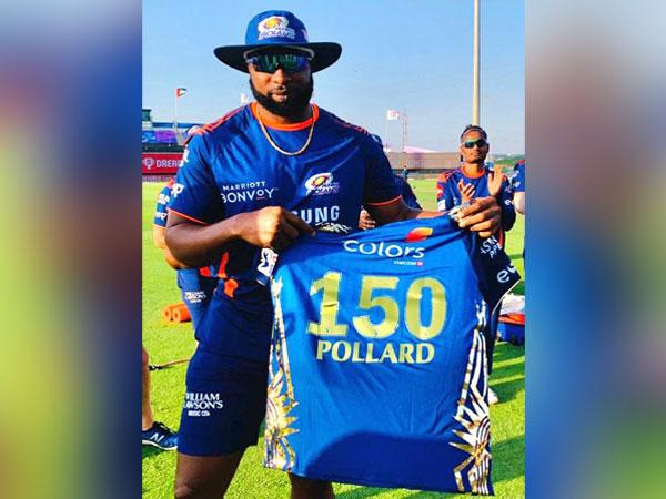 Mumbai Indians' all-rounder Kieron Pollard. (Photo/ Mumbai Indians)