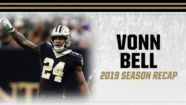 Vonn Bell stepped up as a leader in the secondary for the New Orleans Saints in 2019