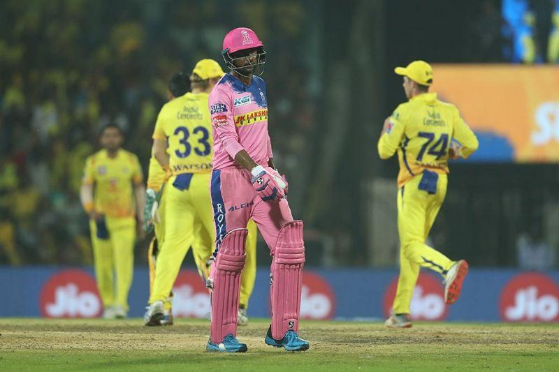 Gowtham was unable to make an impact with both bat and ball (Image Courtesy: IPLT20.com/BCCI)