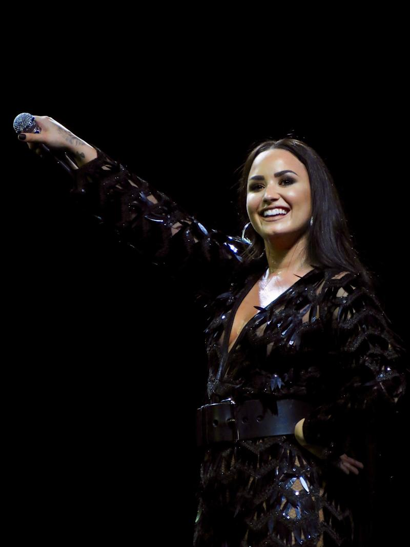 The Blast shares Demi Lovato is performing the National Anthem at Super Bowl 2020