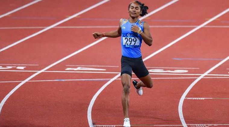 Hima Das, Hima Das injury