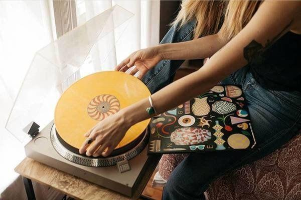 """<strong><a href=""""https://fave.co/2NDbbyI"""" target=""""_blank"""" rel=""""nofollow noopener noreferrer"""">VINYL MOON</a></strong>&nbsp;is a vinyl record club that independently curates and designs records for the musically curious. Each month, subscribers receive a mix of 10 up-and-coming musical artists pressed to beautiful, high-quality colored vinyl in a custom-designed record jacket. <strong><a href=""""https://fave.co/2NDbbyI"""" target=""""_blank"""" rel=""""noopener noreferrer"""">Learn more about a VINYL MOON membership for $23/month</a></strong>."""