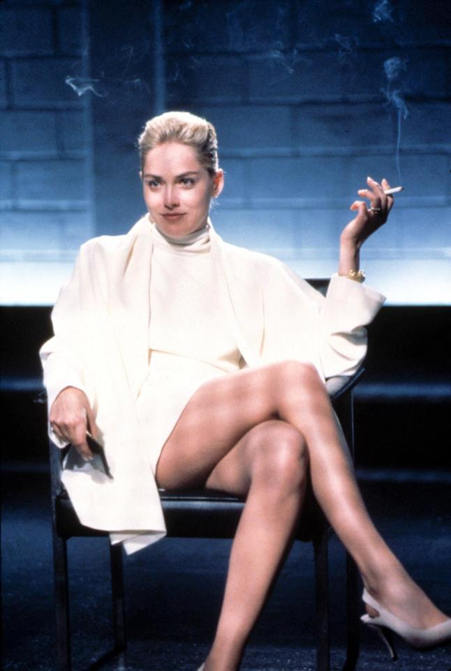 "<a href=""http://movies.yahoo.com/movie/contributor/1800012230"">Sharon Stone</a>, ""<a href=""http://movies.yahoo.com/movie/1800173852/info"">Basic Instinct</a>""<br><br>When a brutal homicide mimics one within the pages of Catherine Trammel's latest tome, <a href=""http://movies.yahoo.com/movie/contributor/1800012782"">Michael Douglas</a> crosses an ice pick-wielding Sharon Stone who unabashedly uncrosses her way into the history books as one of film's greatest femme fatales."