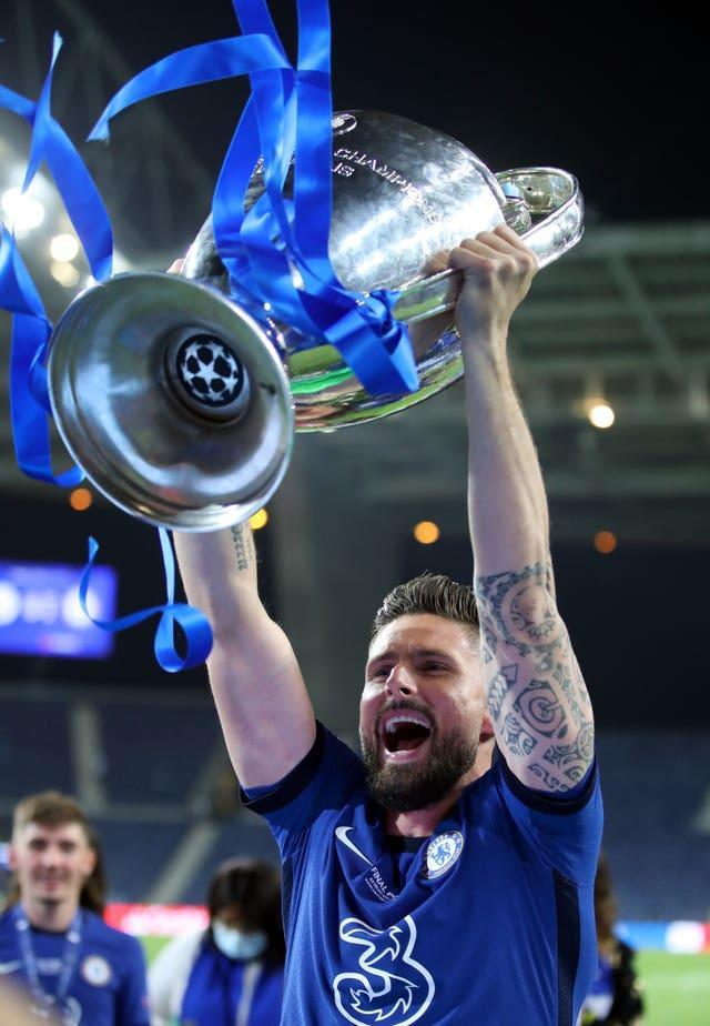 Chelsea have revealed they extended striker Olivier Giroud's stay at Stamford Bridge in April