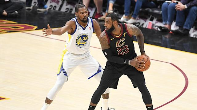 Kevin Durant's decision to join Golden State changed the landscape of the NBA, and SI senior writer Lee Jenkins looks at how the move directly impacted LeBron James' career.