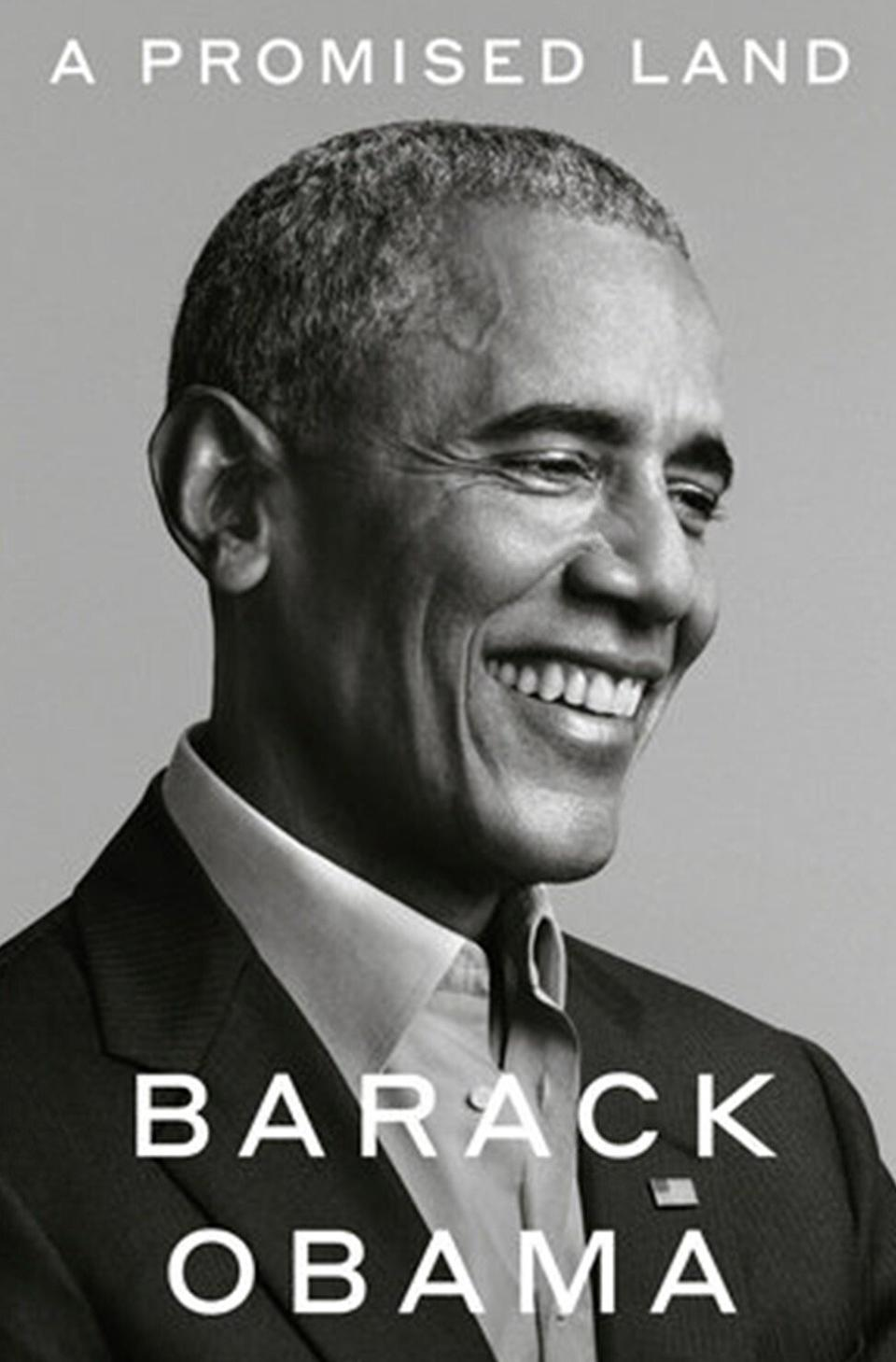A Promised Land is the first of two volumes of presidential memoirs by former US president Barack Obama. Photo: TNS