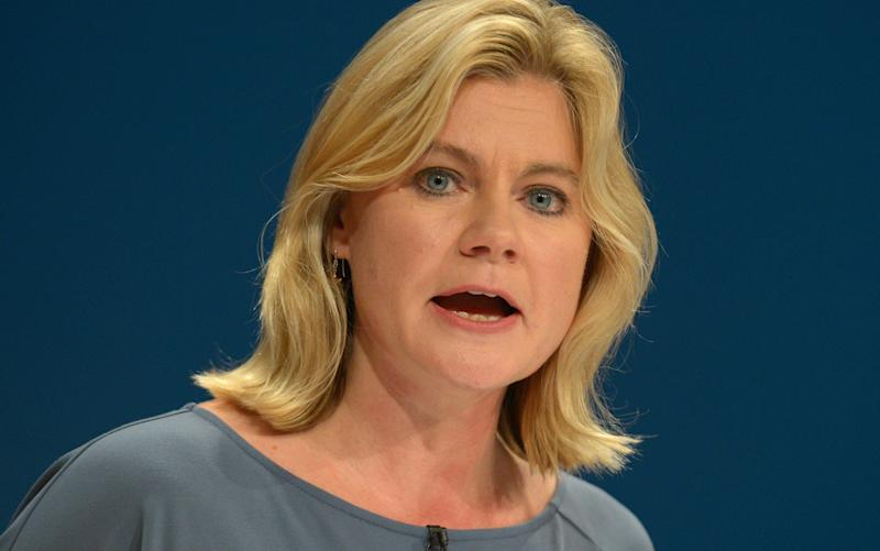Justine Greening was addressing members of the Association of School and College Leaders in Birmingham - PA Wire/PA Images