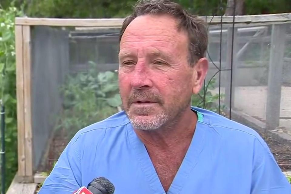 Michael Packard thought he was going to die while in the mouth of a humpback whale near Provincetown, Massachusetts (WCVB Channel 5 Boston )