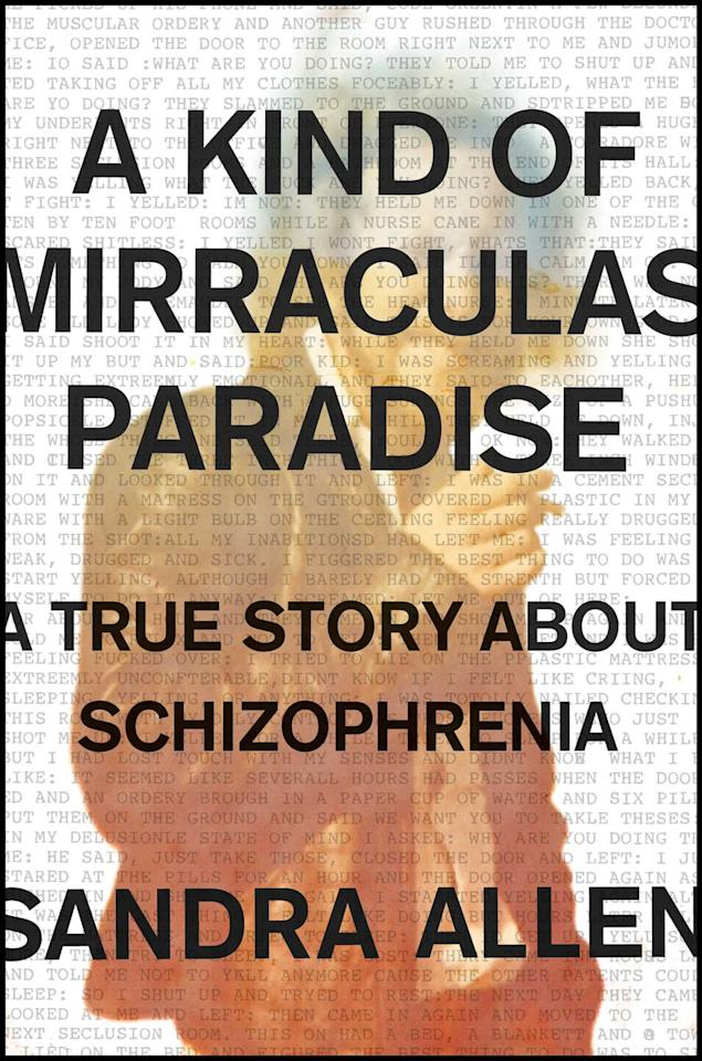 "<p><a rel=""nofollow"" href=""https://www.amazon.com/Kind-Mirraculas-Paradise-Story-Schizophrenia/dp/1501134035/"">Buy on Amazon</a></p><p>Sandra Allen received a manuscript of her uncle Bob's autobiography in 2009, a sprawling 60-page piece of writing entirely in all caps and full of streams of consciousness. She learned more about her uncle than ever before, understanding from his perspective the mental illness from which he suffered. Using her skills as a writer and reporter, she translated his autobiography along with the help of their family history to create a powerful book that pays tribute to her uncle as well as paints a portrait of an often misunderstood disorder. </p>"