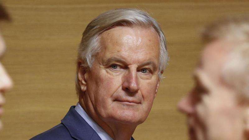 """EU Brexit negotiator Michel Barnier says """"it is high time to turn good intentions in a legal text"""""""
