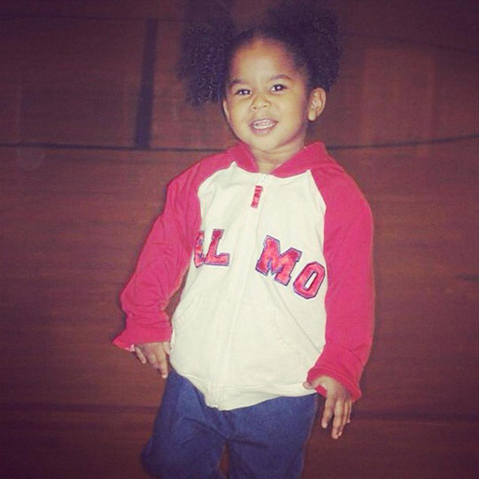 <p>She used to rep Team ELMO and now she represents Team USA ... </p>