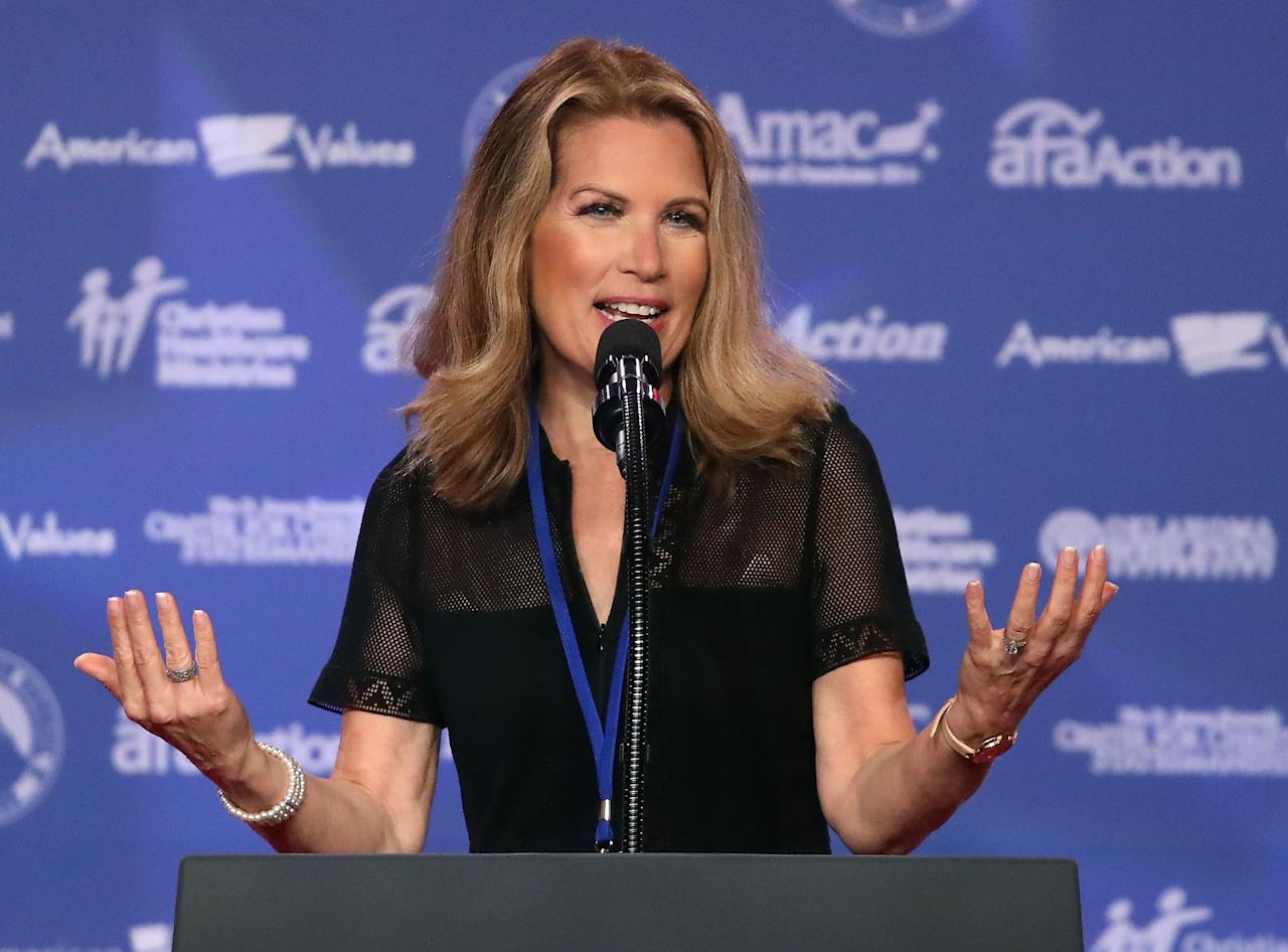 """Bachmann said Trump """"has done more to advance the pro-life movement and the pro-life cause than any other president has ever done."""""""
