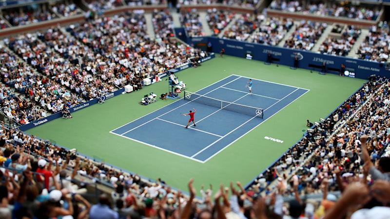 Tennis fans, pictured here in attendance at the 2016 US Open.