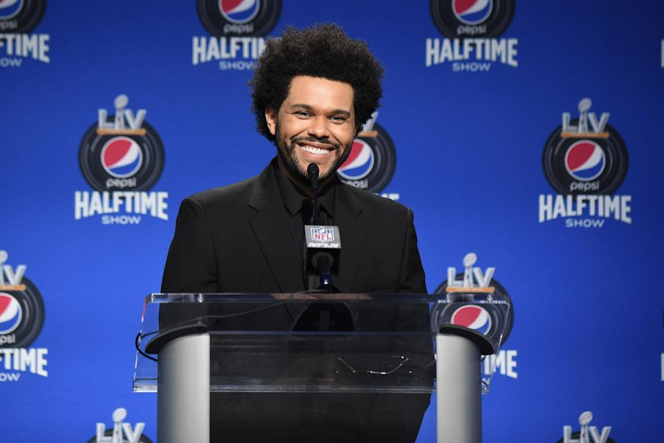 The Weeknd seems to have some big things planned for the Super Bowl halftime show. (Photo by Kevin Mazur/Getty Images for TW)