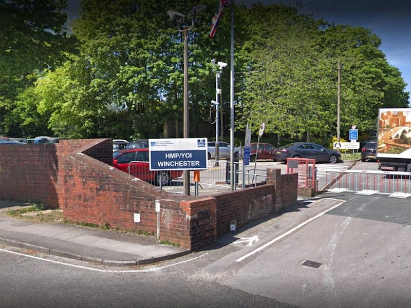 Google street view image of HMP Winchester, in Hampshire: Google