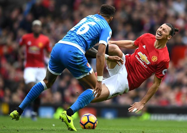 Tyrone Mings returns to action after his clash with Zlatan Ibrahimovic