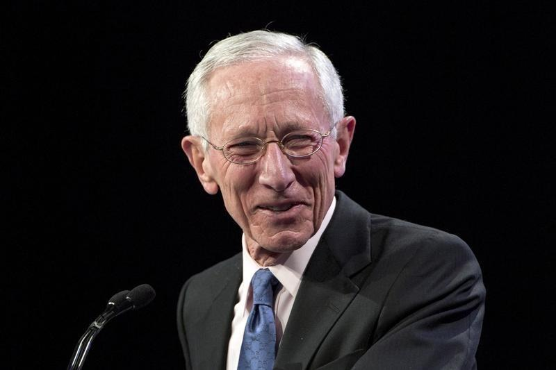U.S. Federal Reserve Vice Chair Stanley Fischer addresses The Economic Club of New York in New York