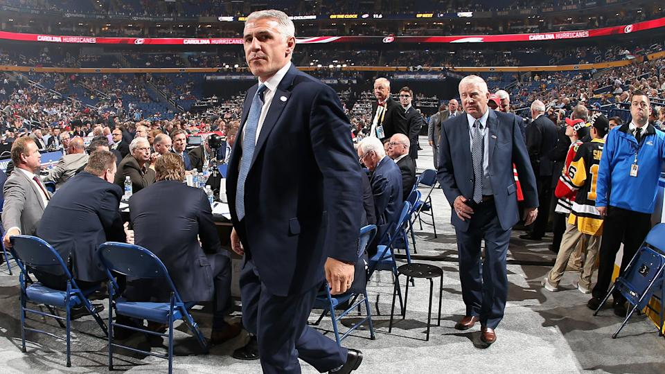 It's nearly go time for Ron Francis. (Photo by Dave Sandford/NHLI via Getty Images)