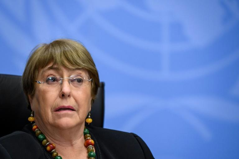 UN rights chief Michelle Bachelet said Myanmar's conflict could spiral into one like Syria's