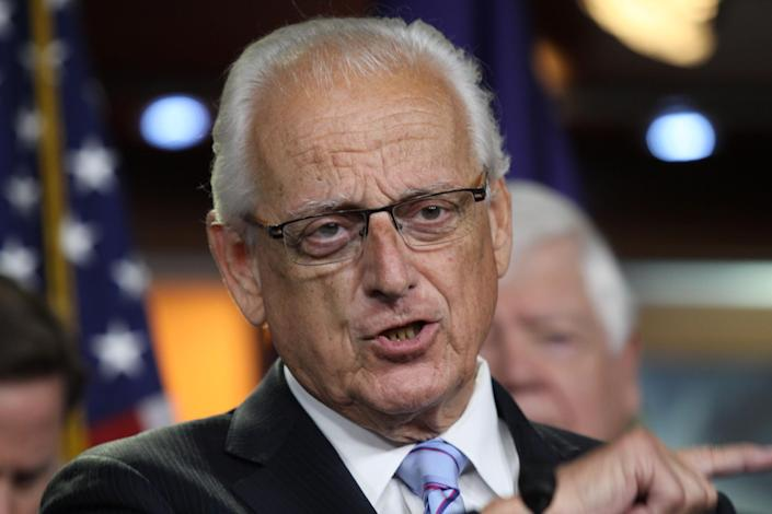 Rep. Bill Pascrell, D-N.J., during a news conference on Capitol Hill on June 16, 2015. (Photo: Lauren Victoria Burke/AP)