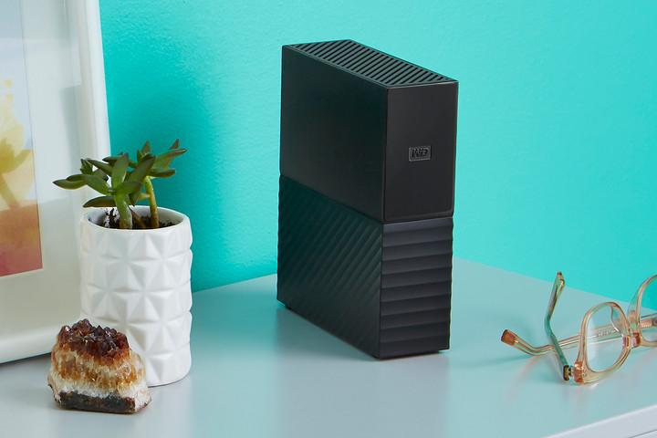 New My Book desktop external drive.