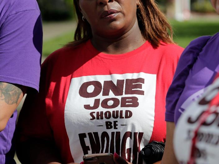 minimum wage fight for 15 one job should be enough