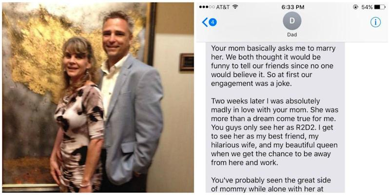 Dad's Sweet Message About His 27-Year Marriage Left His