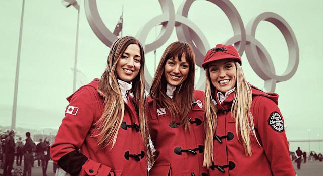 The Dufour-Lapointe sisters find strength in numbers. (Getty Images)