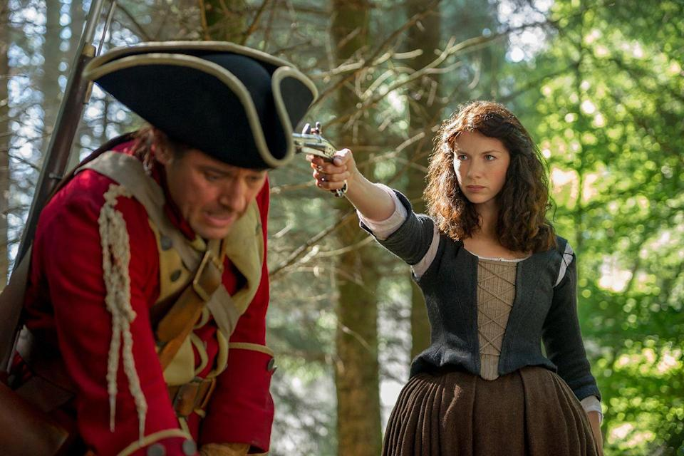 """<p>Leaked emails from the Sony hack revealed that Cameron had the show pushed back, as he was worried it would interfere with the <a href="""" http://www.scotsman.com/lifestyle/culture/tv-radio/david-cameron-met-sony-over-outlander-uk-release-1-3747339"""" rel=""""nofollow noopener"""" target=""""_blank"""" data-ylk=""""slk:country's historic vote."""" class=""""link rapid-noclick-resp"""">country's historic vote.</a></p>"""