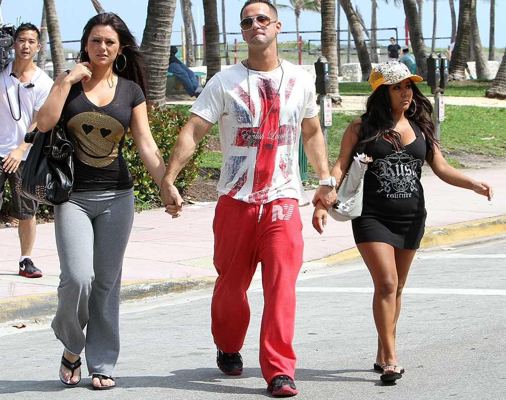 """JWoww, The Situation, and Snooki might have to start looking for a new reality gig. <i>Entertainment Weekly</i> reports that new cast members will be added towards the end of season 2, and that it's unknown at this point whether or not original cast members will be replaced."""" Snooki 4 Eva! Ralph Notaro/<a href=""""http://www.splashnewsonline.com"""" target=""""new"""">Splash News</a> - May 10, 2010"""