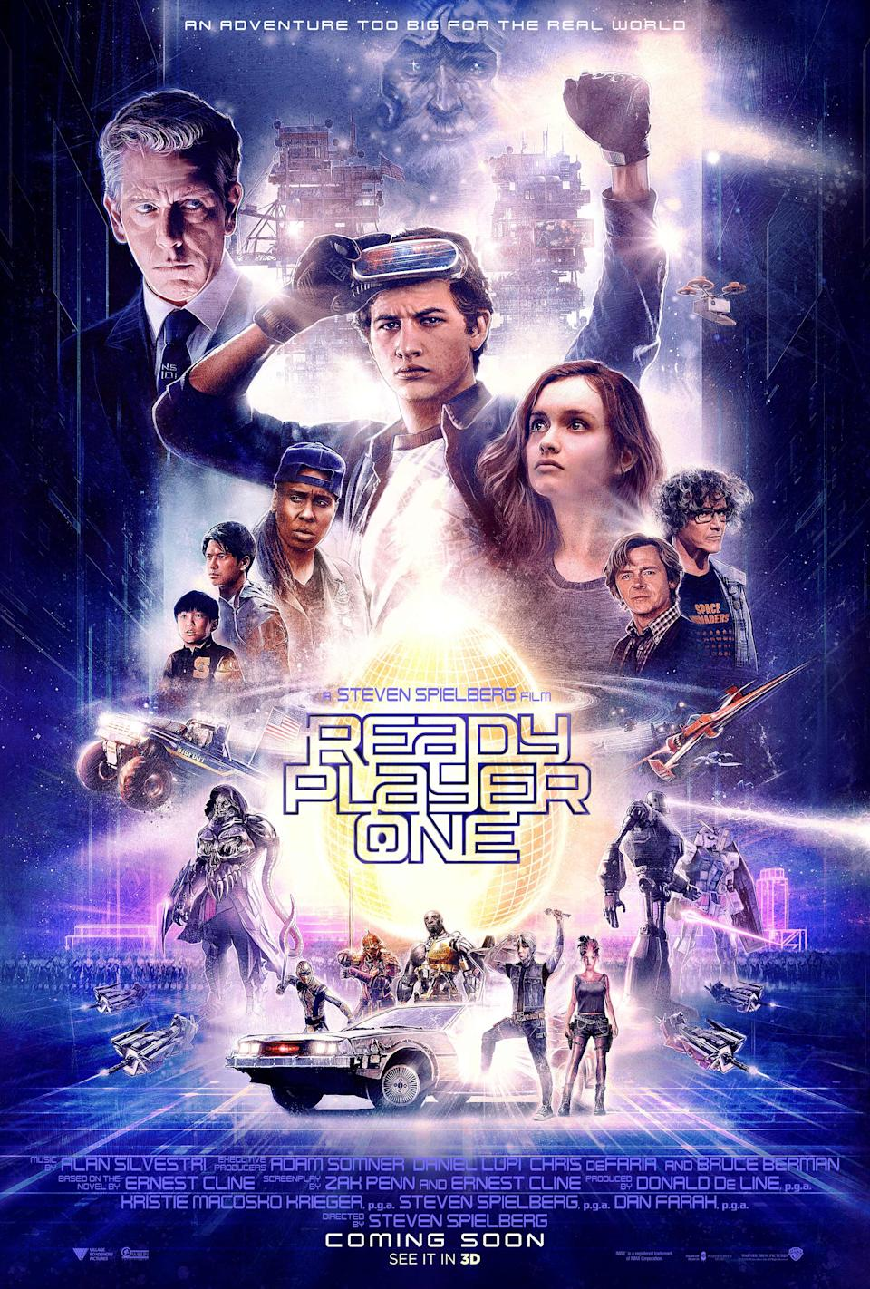 <p>Ready Player One is released on 30 March in the UK. </p>