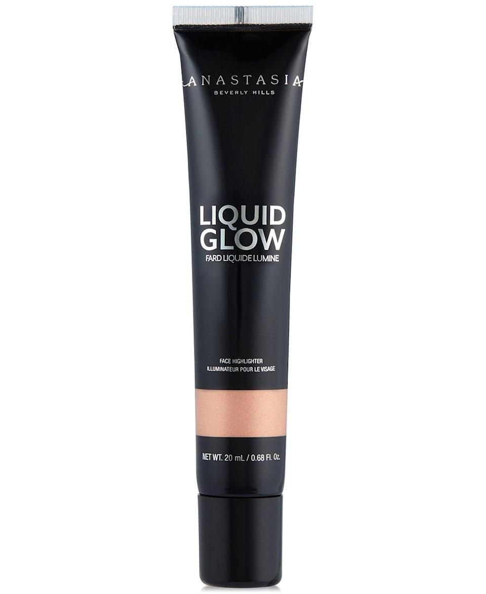 <p><span>Anastasia Beverly Hills Liquid Glow</span> ($25) in Oyster is beautiful on its own, or you can mix it with your foundation for all-over luminosity. The lightweight formula doesn't feel cakey or look unnatural. </p>