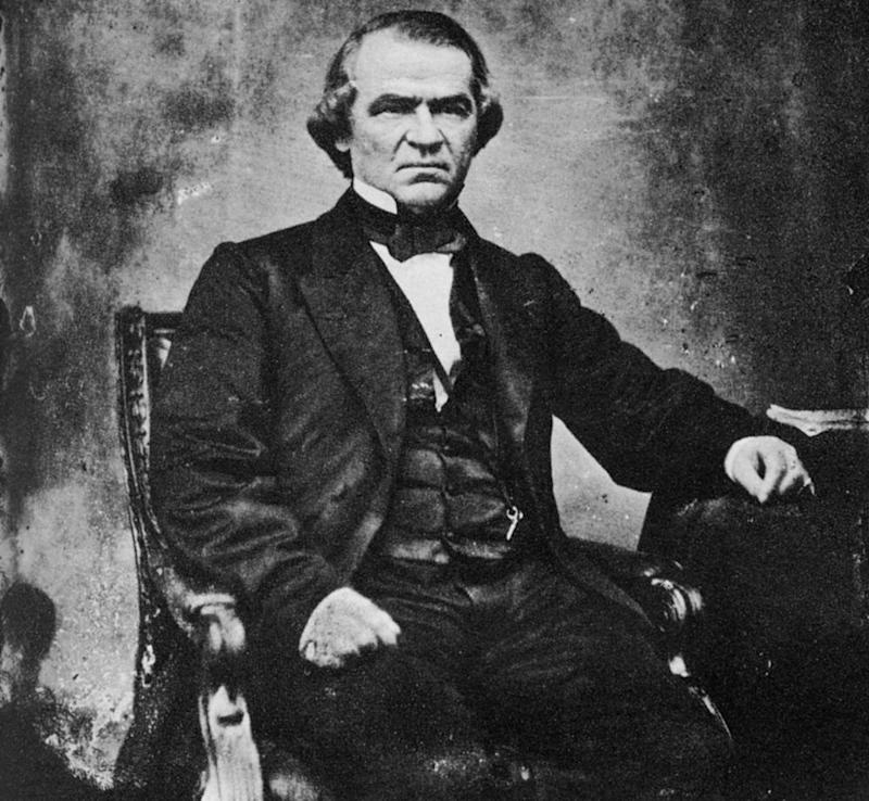 President Andrew Johnson | The Print Collector/Print Collector/Getty