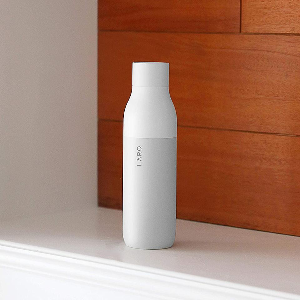 <p>This <span>Larq Insulated Self-Cleaning and Stainless Steel Water Bottle </span> ($95) not only keeps your water bottle clean without having to wash it, but it can also purify water.</p>