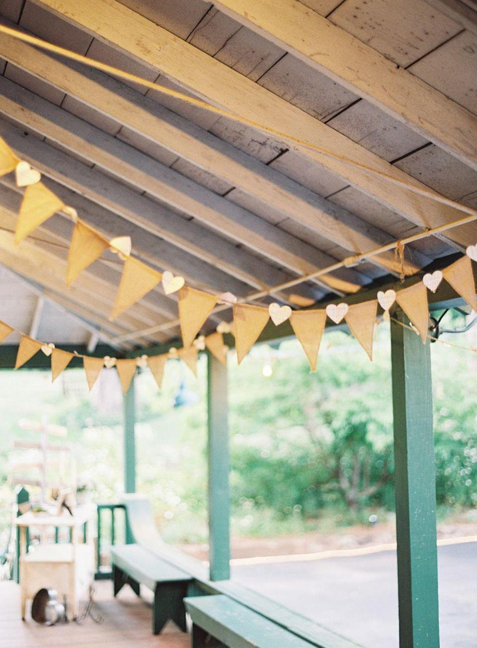 "<p>Simple garland featuring burlap flags and cut-out hearts doesn't feel overly frilly. </p><p><a href=""https://www.stylemepretty.com/2016/09/15/romantic-outdoor-state-park-wedding-in-california/"" rel=""nofollow noopener"" target=""_blank"" data-ylk=""slk:Via Style Me Pretty"" class=""link rapid-noclick-resp"">Via <em>Style Me Pretty</em></a></p><p><a class=""link rapid-noclick-resp"" href=""https://go.redirectingat.com?id=74968X1596630&url=https%3A%2F%2Fwww.etsy.com%2Flisting%2F662603322%2Fheart-felt-garland-all-pink-hearts%3Fga_order%3Dmost_relevant%26ga_search_type%3Dall%26ga_view_type%3Dgallery%26ga_search_query%3Dheart%2Bgarlands%26ref%3Dsr_gallery-1-31%26organic_search_click%3D1%26bes%3D1&sref=https%3A%2F%2Fwww.elledecor.com%2Flife-culture%2Ffun-at-home%2Fg2387%2Fvalentines-day-decor%2F"" rel=""nofollow noopener"" target=""_blank"" data-ylk=""slk:GET THE LOOK"">GET THE LOOK</a><em><br>Pink Heart Felt Garland, Etsy, $18</em></p>"