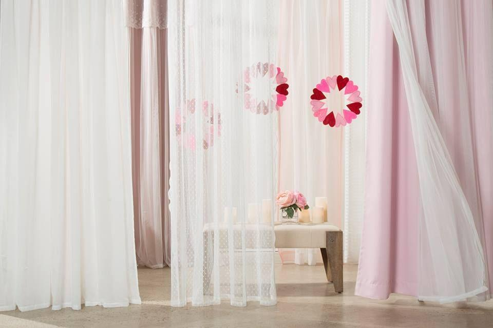 "<p>Swathe your Valentine's celebration in sheer panels of pastel drapery, to add a little mystique to the day. We also love the stylish, thematic wreaths suspended in the folds of fabric. </p><p><em>Via <a href=""https://besthomefashion.com/"" rel=""nofollow noopener"" target=""_blank"" data-ylk=""slk:Best Home Fashion"" class=""link rapid-noclick-resp"">Best Home Fashion</a></em></p><p><a class=""link rapid-noclick-resp"" href=""https://go.redirectingat.com?id=74968X1596630&url=https%3A%2F%2Fwww.etsy.com%2Flisting%2F923178251%2Flove-and-romance-valentine-felt-leaf-12%3Fga_order%3Dmost_relevant%26ga_search_type%3Dall%26ga_view_type%3Dgallery%26ga_search_query%3Dvalentines%2Bwreath%26ref%3Dsr_gallery-1-5%26bes%3D1&sref=https%3A%2F%2Fwww.elledecor.com%2Flife-culture%2Ffun-at-home%2Fg2387%2Fvalentines-day-decor%2F"" rel=""nofollow noopener"" target=""_blank"" data-ylk=""slk:GET THE LOOK"">GET THE LOOK</a><em><br>Valentine's Felt Leaf Wreath, Etsy, $35.67</em></p>"