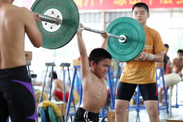 Behind gold medals: Training with tears and sweat