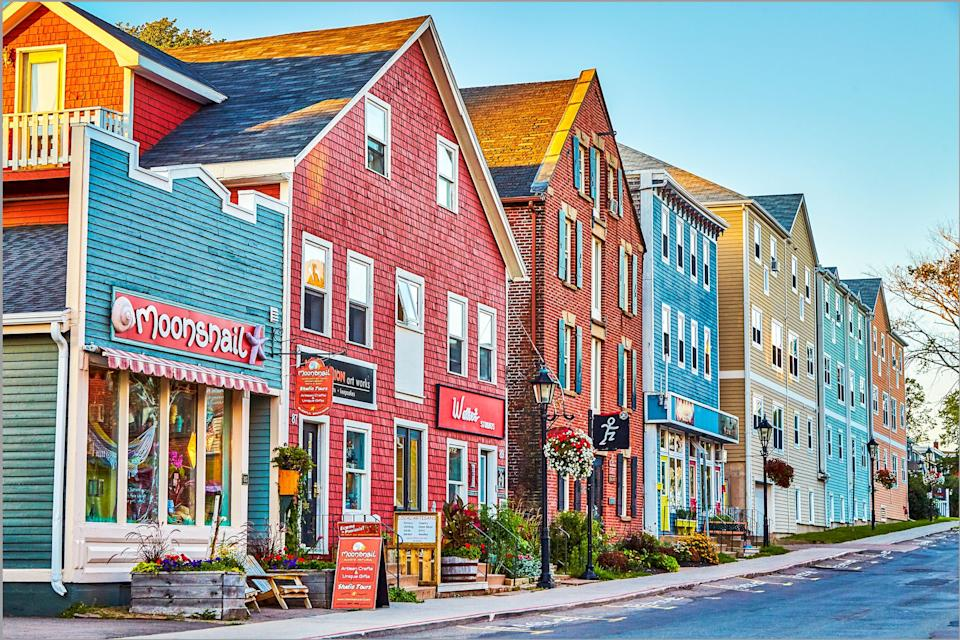 Charlottetown, where Darcie Lanthier is based. (Photo: Peter Unger)