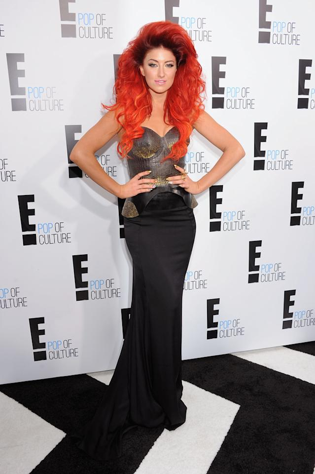 Neon Hitch attends E!'s 2012 Upfront event at Gotham Hall on April 30, 2012 in New York City.