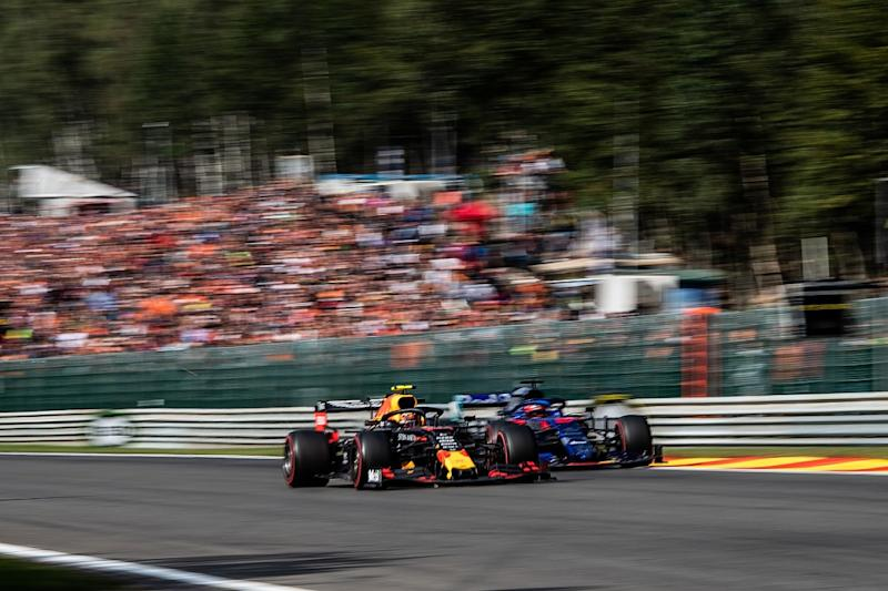 Kvyat wasn't happy with Albon's Red Bull promotion