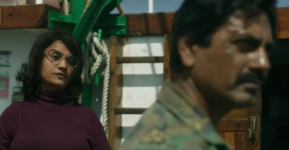 The two brilliant actors lit up the concluding season of <em>Sacred Games</em>. Amruta Subhash as Yadav Madam provides the icy intelligence operator with a vice-like grip over the life of Nawazuddin's fiery Gaitonde who's ready to burn down his enemies at the drop of a hat. The chemistry between the two makes for a riveting watch.