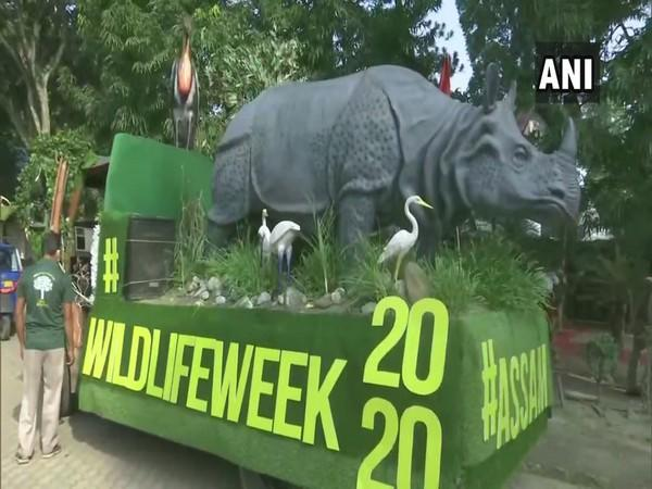 The 66th Wildlife Week was launched at Assam State Zoo. (Photo/ANI)