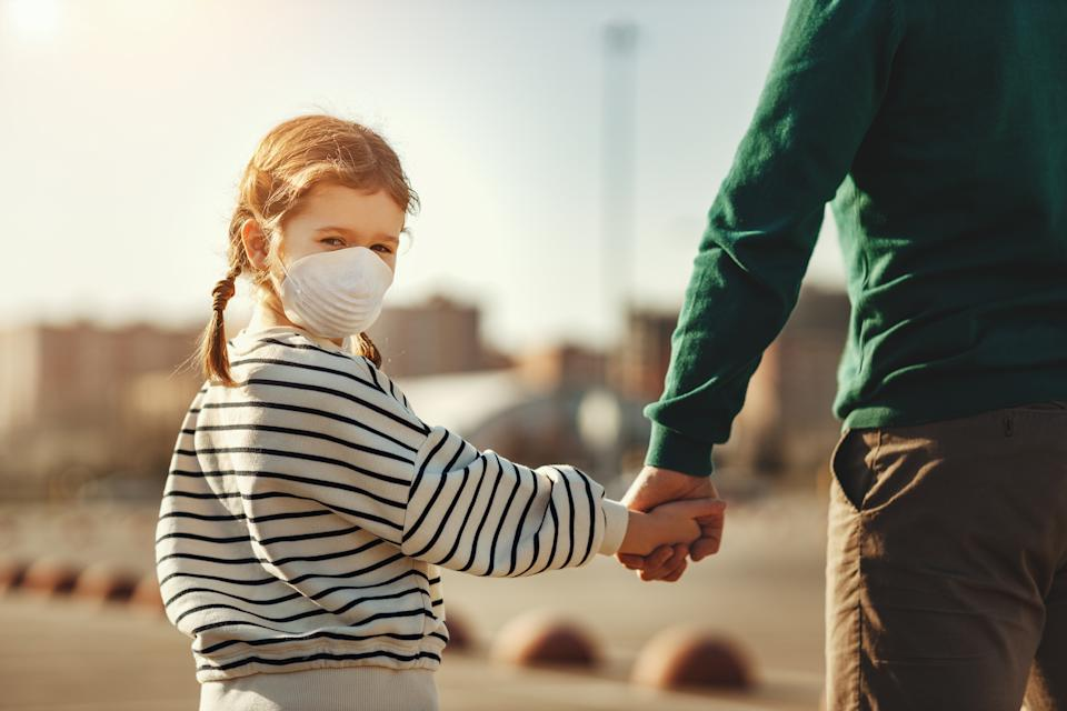 Children under 11 will not be advised to wear face masks in shops. (Getty Images)