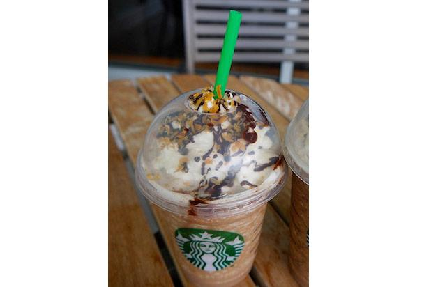 "<div class=""caption-credit""> Photo by: Credit: Flickr/SophieSchieli</div><div class=""caption-title"">Samoa Frappuccino</div>Commenter Heather W. suggested a summer-only favorite, the Samoa Frappuccio. ""It's the mocha coconut Frappuccino with caramel drizzle. It's a dead ringer for the Girl Scout Cookie! We used to make it in our café all the time!"" She also recommends some other seasonal drinks, ""Other good seasonal beverages are the Pumpkin Spice Chai and the Gingerbread Chai. Coconut Chai is also really, really good."" <br>"
