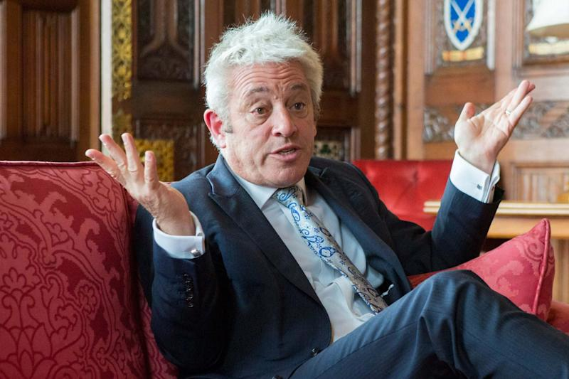 John Bercow is widely expected to refuse to allow the vote on the PM's deal to be staged at all (Matt Writtle)
